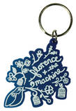 Florence And The Machine - Birdcage Rubber Keychain Keychain