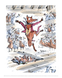 Fantastic Mr Fox Art by Quentin Blake