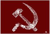 Soviet Pics and Text Poster - Resim
