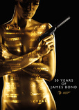 James Bond - 50Th Anniversary Reprodukcje