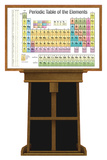 Periodic Table of Elements on Easel Lifesize Standup Cardboard Cutouts