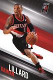 Damian Lillard Portland Trail Blazers NBA Sports Poster Print
