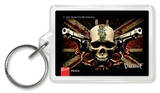 Bullet For My Valentine - Skull Acrylic Keychain Keychain