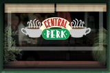 Friends (Central Perk Window) Posters