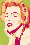 Marilyn Monroe - Psychedelic Movie Poster Prints