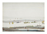 The Estuary, 1956-9 Premium Giclee Print by Laurence Stephen Lowry