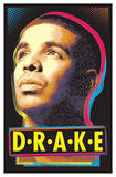 Drake Blacklight Music Poster Photo