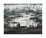 The Lake, 1937 Premium Giclee Print by Laurence Stephen Lowry