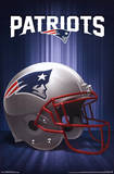 New England Patriots Helmet Logo NFL Sports Poster Prints