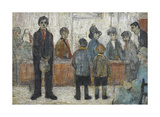 Doctor's Waiting Room, c1920 Premium Giclee Print by Laurence Stephen Lowry