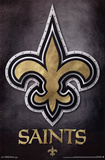 New Orleans Saints - Logo NFL Sports Poster Plakater