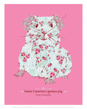 WWF Santa Catarina's Guinea Pig - Animal Tails Prints by Annette D'Oyly