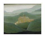 House On The Moor, 1950 Premium Giclee Print by Laurence Stephen Lowry