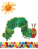 The Very Hungry Caterpillar Poster tekijänä Eric Carle