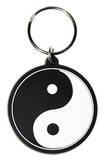 Yin Yang Rubber Keychain Keychain
