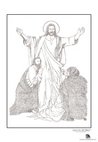 Jesus Text Poster Prints