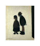 Two People, 1962 Giclée-Premiumdruck von Laurence Stephen Lowry