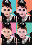 Audrey Hepburn (Pop Art) Affiches