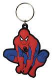 Spider-Man - Crouch Rubber Keychain Keychain