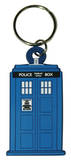 Doctor Who - Tardis Rubber Keychain Keychain