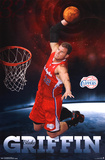 Blake Griffin Los Angeles Clippers NBA Sports Poster Posters