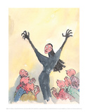 The Witches Posters by Quentin Blake