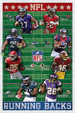 NFL - Running Backs Sports Poster Posters
