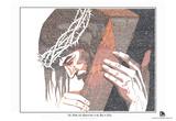 Jesus Luke 22-24 Text Poster Poster