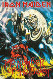 Iron Maiden The Number of the Beast Music Poster Print