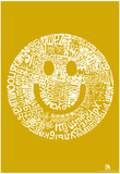 Smile Languages Text Poster Fotografie