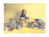 Matilda Affiches par Quentin Blake