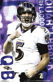 Joe Flacco Baltimore Ravens NFL Sports Poster Plakater