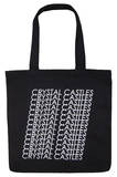 Crystal Castles - Repeat Logo Tote Tote Bag