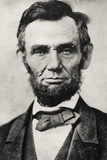President Abraham Lincoln Portrait Archival Photo