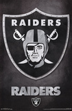 Oakland Raiders - Logo NFL Sports Poster Plakat
