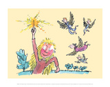 The Magic Finger Posters by Quentin Blake