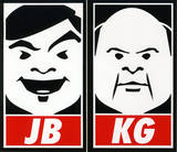 Tenacious D - Obey Sticker Stickers