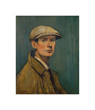 Self Portrait Premium Giclee Print by Laurence Stephen Lowry