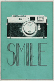 Smile Retro Camera Prints