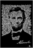 Gettysburg Address Text Poster Prints