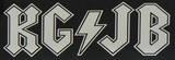 Tenacious D - KG/JB sticker Klistremerker