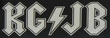 Tenacious D - KG/JB sticker Stickers