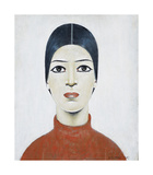 Portrait Of Ann, 1957 Premium Giclee Print by Laurence Stephen Lowry