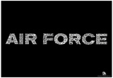 Air Force Wild Blue Yonder Lyrics Poster Photo