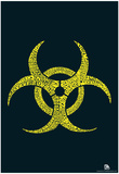 Biohazard Text Poster Posters