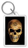 Alchemy - Omega Skull Acrylic Keychain Keychain