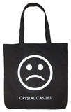 Crystal Castles - Sad Face Tote Tote Bag