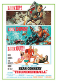 James Bond - Thunderball Posters