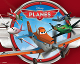 Planes (Red) Disney/Pixar Movie Poster Prints