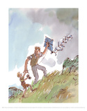 Danny the Champion of the World Lámina por Quentin Blake